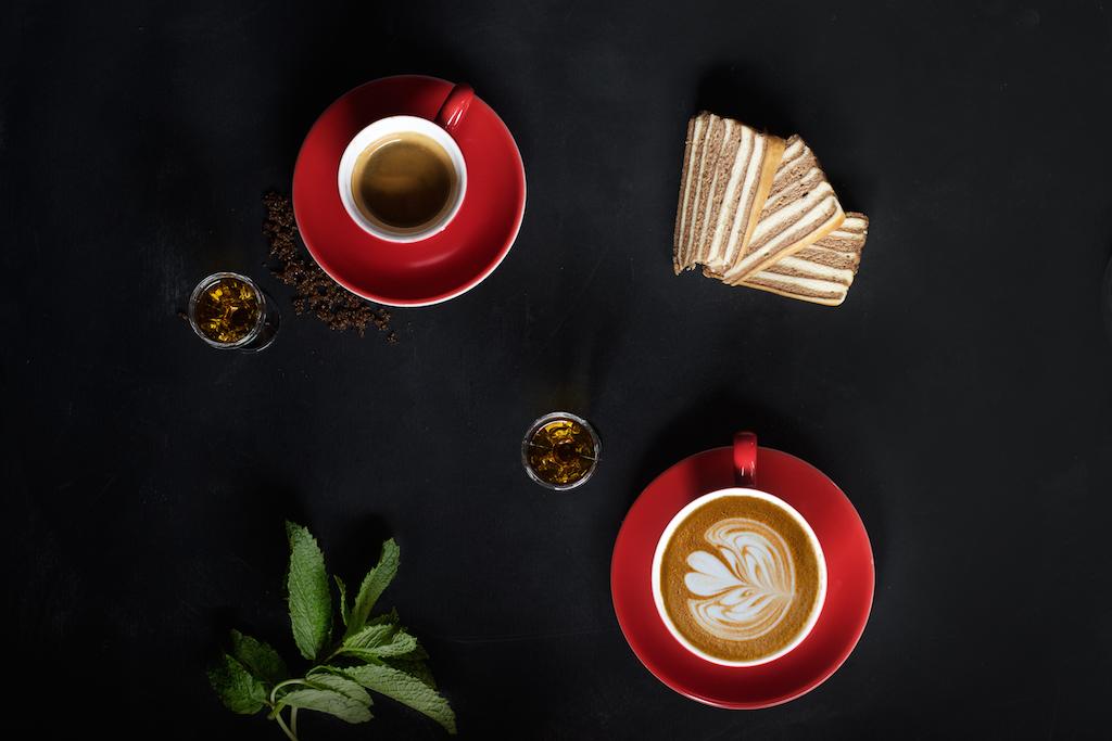 koffie en cappucino